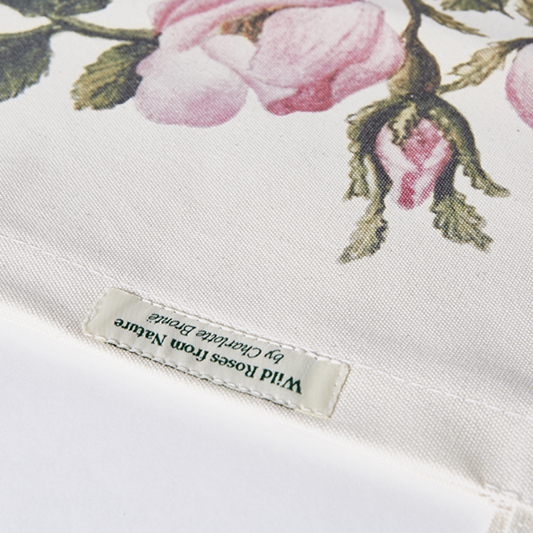 Customers own labels in bags, personalised sewing labels in bags, own label sewn on bag
